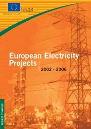 European Electricity Projects