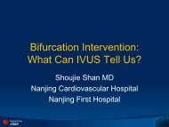 Bifurcation Intervention: What Can IVUS Tell Us? - Citmd.com