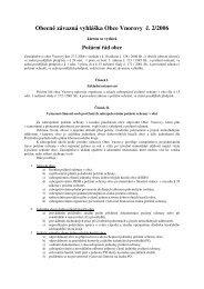 Stáhnout (formát pdf, velikost 69 kB). - Obec Vnorovy