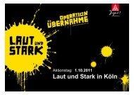 1.10.2011 Köln - IG Metall