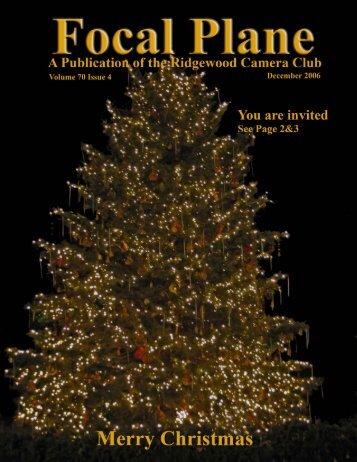 December 2006 - Ridgewood Camera Club
