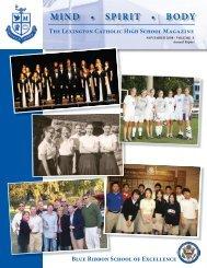 MSB Vol 10 2008-AR.indd - Lexington Catholic High School