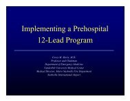 Implementing Prehospital 12 Leads - Gathering of Eagles