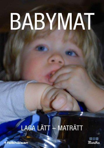 Ladda ner broschyren om babymat - Ålands Marthadistrikt