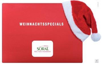 Weihnachtsspecials 2012.indd - SORAT Hotels