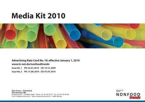 Media Kit 2010 - Isler Annoncen AG