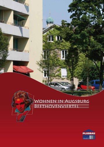 Wohnen in Augsburg Beethovenviertel - Plusbau