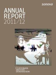 Annual Report 2011/12 - Sonova