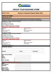 Kenya & Tanzania Classic Safari 2012