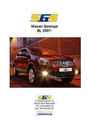 Nissan Qashqai Bj. 2007- - SGS