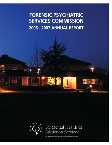 T - BC Mental Health and Addiction Services