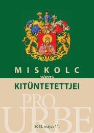 Pro Urbe 2013. - Miskolc