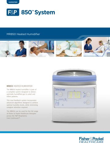 mr850 heated humidifier technical manual