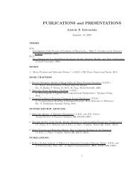 PUBLICATIONS and PRESENTATIONS - Python Home Page - Rice ...