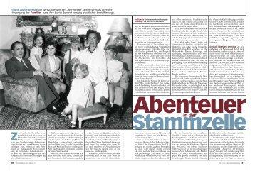 Abenteuer in der Stammzelle [576 kB] - Dieter Schnaas