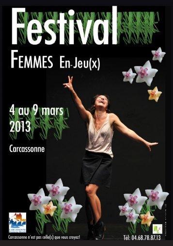 Tout le programme du Festival Femmes En-Jeu(x) - Carcassonne