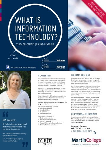 what is information technology? - AIAS