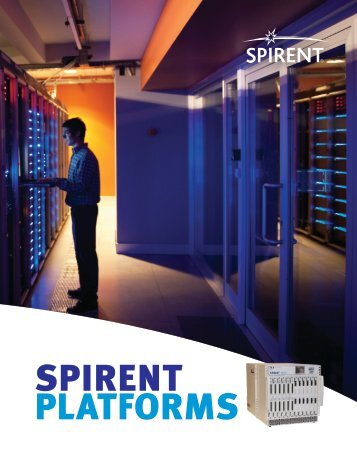 Brochure - Spirent Communications