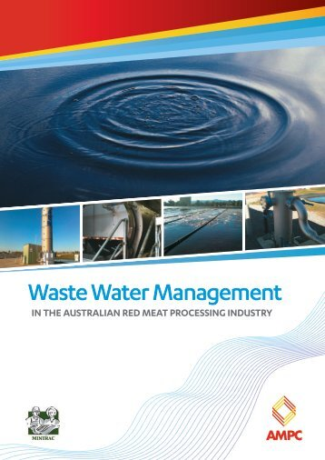 Waste Water Management - Australian Meat Processor Corporation