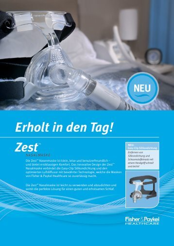 Erholt in den Tag! - CPAP-Shop.de