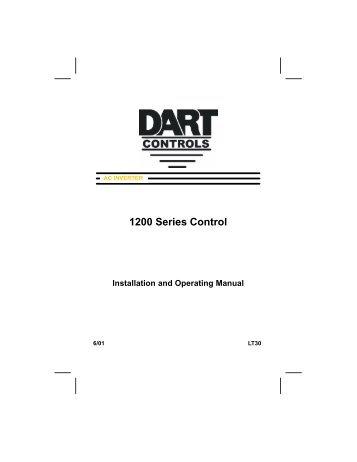 1200 Manual - Dart Controls