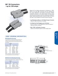 SB® 50 Connectors - up to 120 amps
