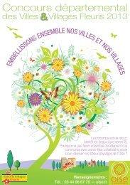 Concours départemental - Conseil général de l'Oise