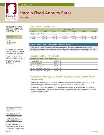 Interest Rates NY 7-1-11 - ECA Marketing