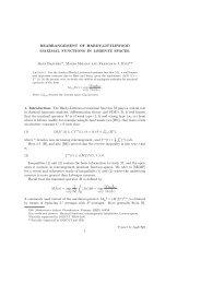 rearrangement of hardy-littlewood maximal functions in lorentz