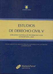 ESTUDIOS DE DERECHO CIVIL V - Universidad Católica del Norte
