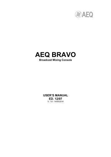 AEQ BRAVO - AEQ International