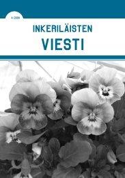 4/2009 - Suomen Inkeri-liitto ry
