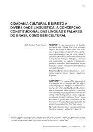 cidadania cultural e direito à diversidade lingüística: a ... - BuscaLegis