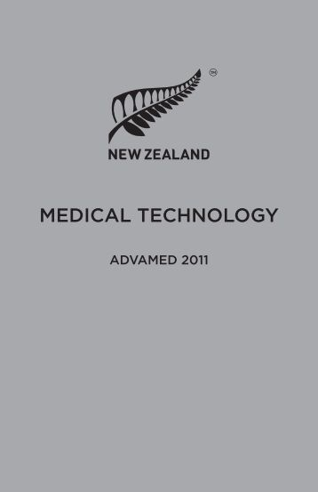 MEDICAL TECHNOLOGY - Doing business with New Zealand