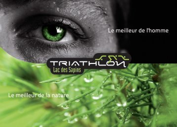 Brochure du triathlon ici. - TRIMAY