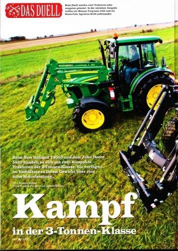 Deutz-Fahr Agrotron KloO aufeinander'