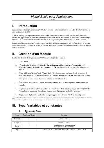 visual basic 2010 pour les nuls pdf