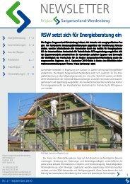 September 2010 - Region Werdenberg