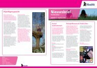 Nieuwsbrief augustus 2012 - Gemeente Hoorn