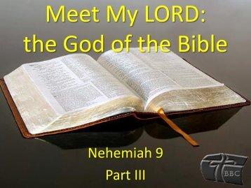 Nehemiah 9 Part III