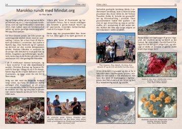 Marokko rundt med Mindat.org - NAGS