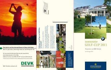 GOlF-cup 2011 - Steigenberger - Hotel der Sonnenhof