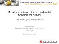 Managing operational risk in the era of market ... - Plus Concepts