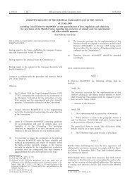 DIRECTIVE 2003/65/EC OF THE EUROPEAN ... - EUR-Lex