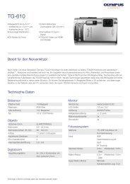 TG-610, Olympus, Compact Cameras