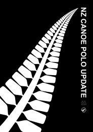 July 2008 Edition of New Zealand Canoe Polo