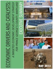 the Executive Summary - Prince George's County Planning ...