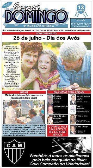 1 26 de julho - Dia dos Avós - Jornal Domingo