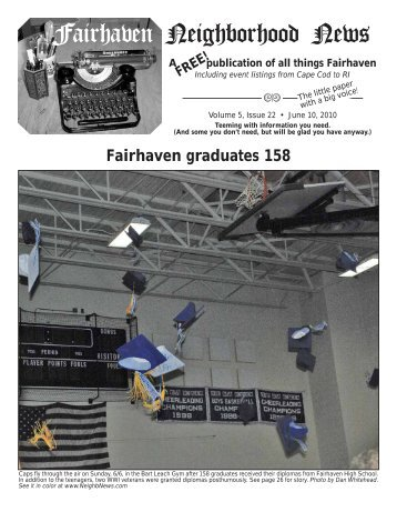 to download a copy of the 06-10-10 issue/FHS Graduation.