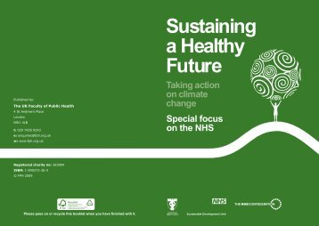 Sustaining a Healthy Future - ARIES